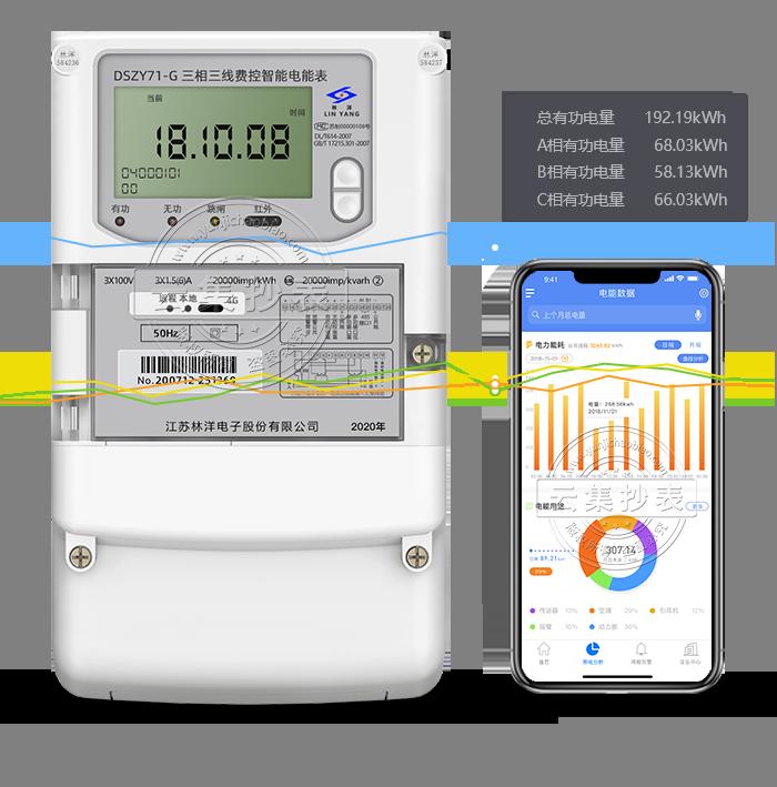 林洋DSZY71-G 4G/GPRS(无线) 电表