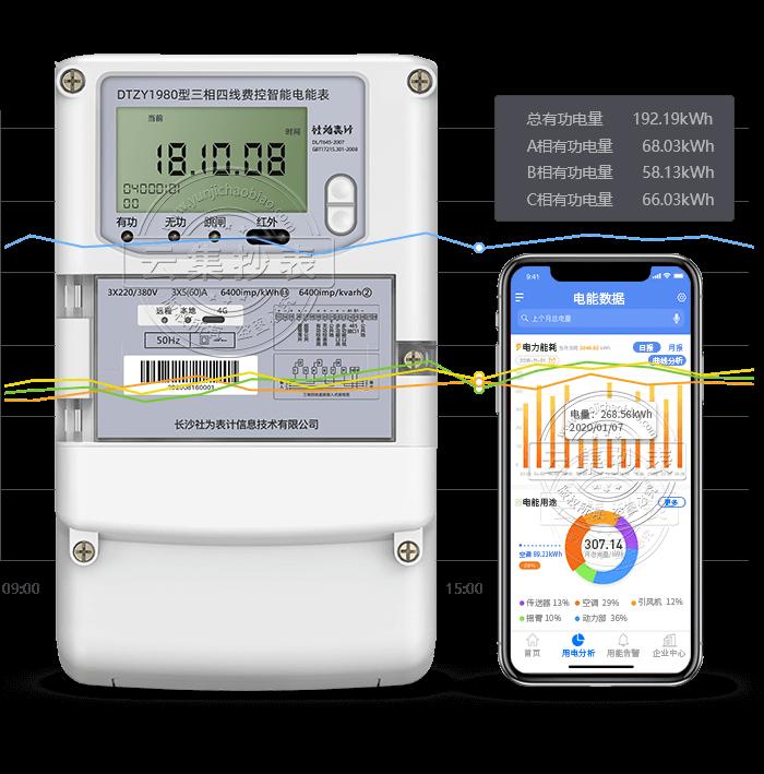 社为DTZY1980 4G(无线)物联网电表